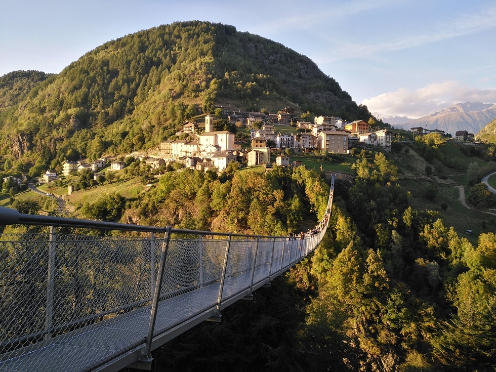 TIBETAN BRIDGE OF TARTANO VALLEY