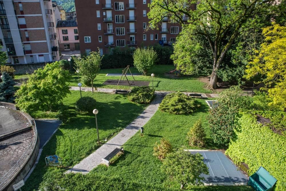 residence sondrio giardino